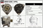 Alternator DRB1330 Opel , 0986041330