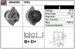 Alternator DRA4265 Opel